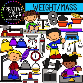 Mass clipart vector freeuse download Weight and Mass: Measurement Clipart {Creative Clips Clipart} vector freeuse download