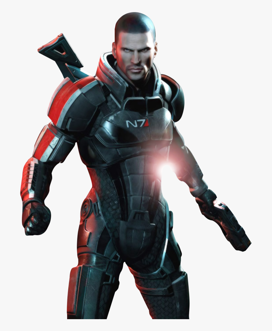 Mass effect 3 clipart vector black and white Mass Effect 3 Shepard Png - Mass Effect 3 Png #2457709 ... vector black and white
