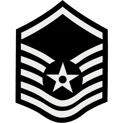 Master sergeant stripes clipart clip art Air Force Enlisted Rank Decal clip art