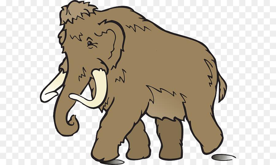 Mastodon clipart clip free download Elephant Cartoon png download - 640*540 - Free Transparent Mastodon ... clip free download