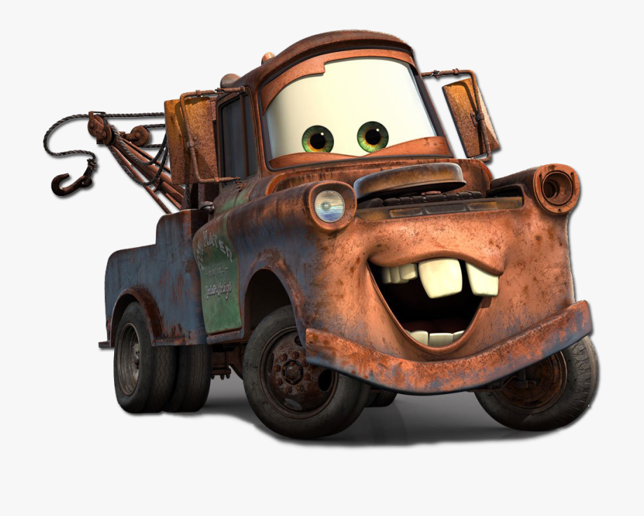 Mater clipart picture royalty free Color Cars Mcqueen Lightning Carts Mater Luigi Clipart - Pixar ... picture royalty free