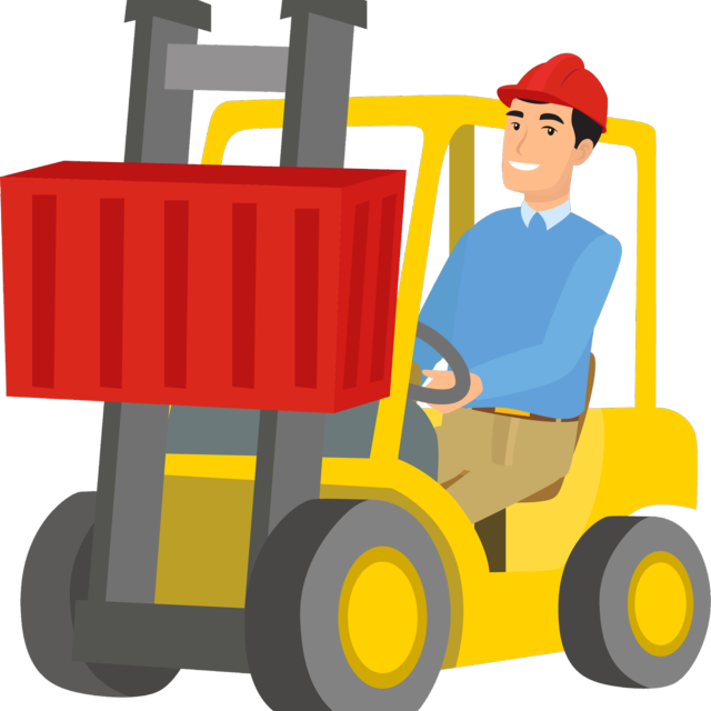 Material handling clipart png freeuse download Forklift clipart material handling, Forklift material ... png freeuse download