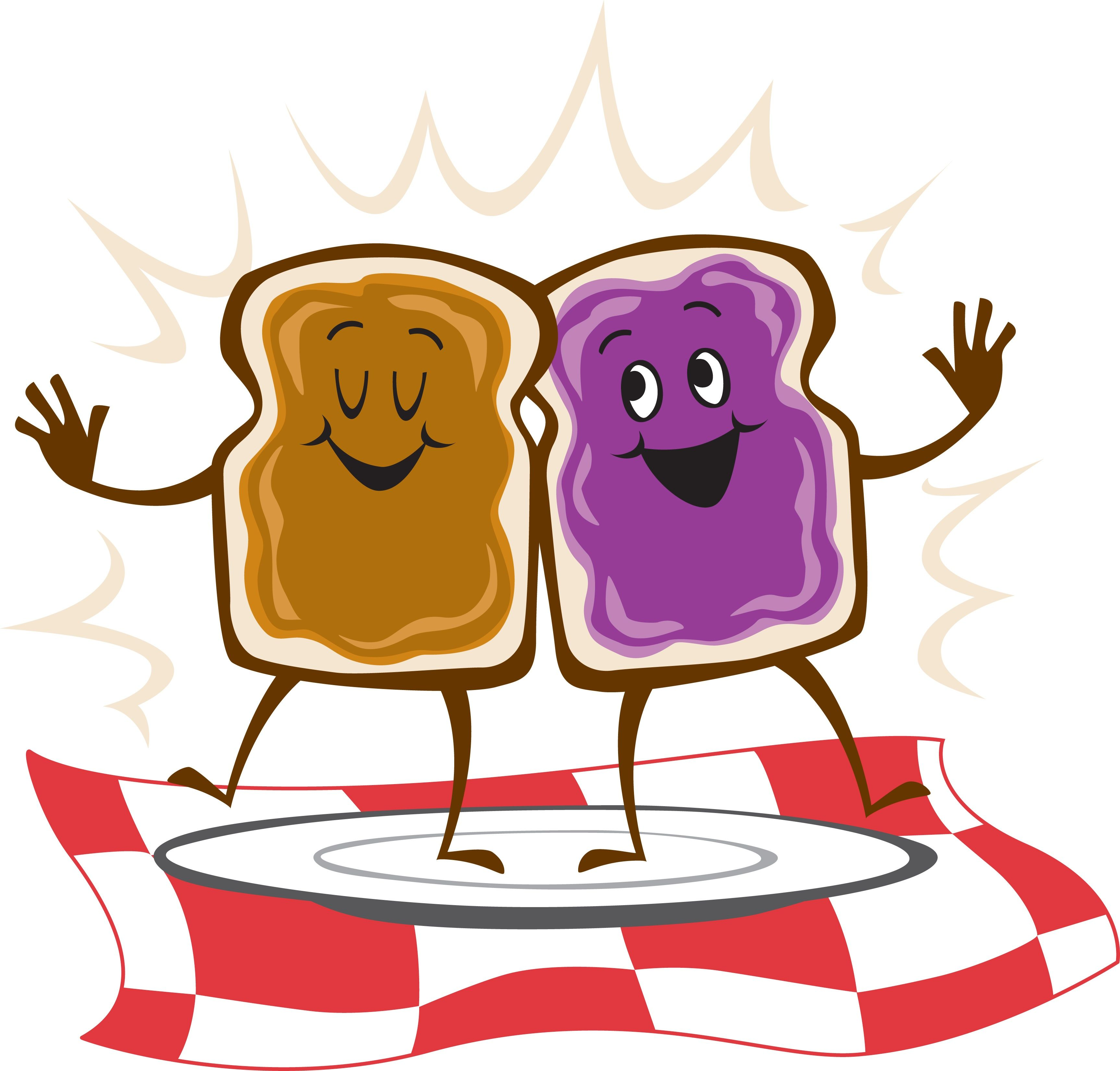 Materials for peanut butter and jelly sandwich clipart clip royalty free peanut butter jelly time | PB & J time | Peanut butter ... clip royalty free
