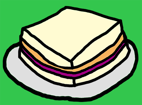 Materials for peanut butter and jelly sandwich clipart royalty free stock Unplugged: Making a Sandwich - Microsoft MakeCode royalty free stock