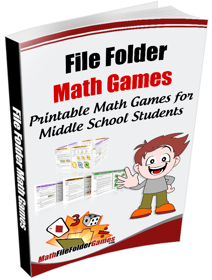 Math clipart high school graphic free stock Printable Middle School Math Games for the Classroom | Math File ... graphic free stock