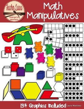 Math sorting manipulative cliparts