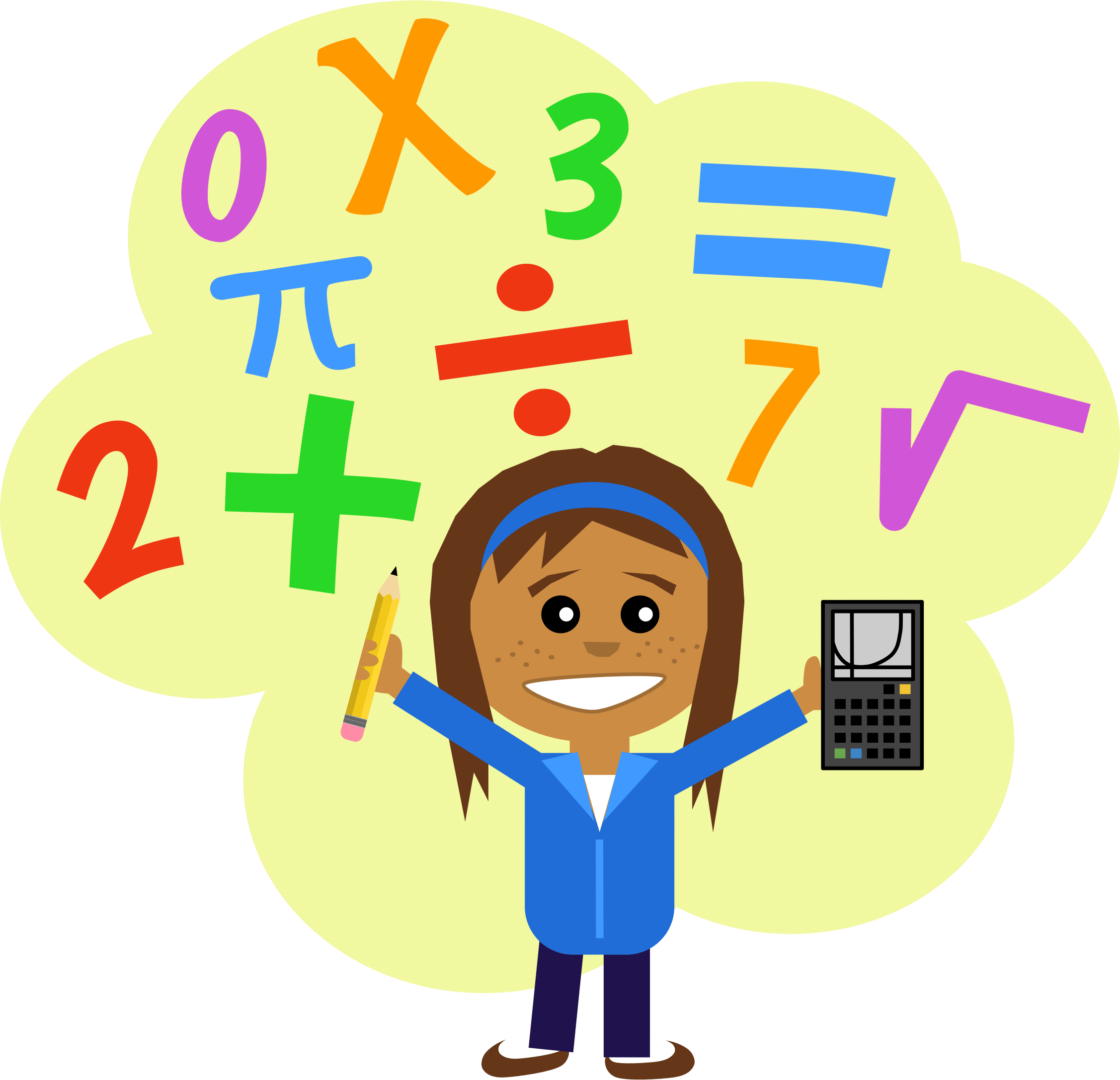 Math subject clipart graphic black and white library Pictures For Maths | Free download best Pictures For Maths ... graphic black and white library
