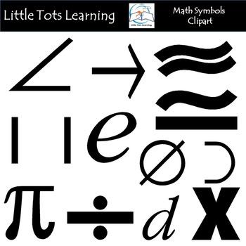Math symbols clipart black and white picture royalty free Math Symbols Clip Art picture royalty free