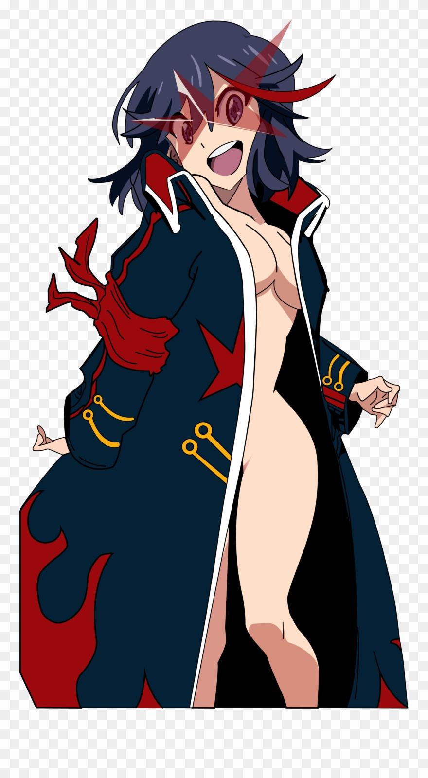 Matoi ryuko clipart clip stock Ryuko Matoi Red Fictional Character Human Hair Color ... clip stock
