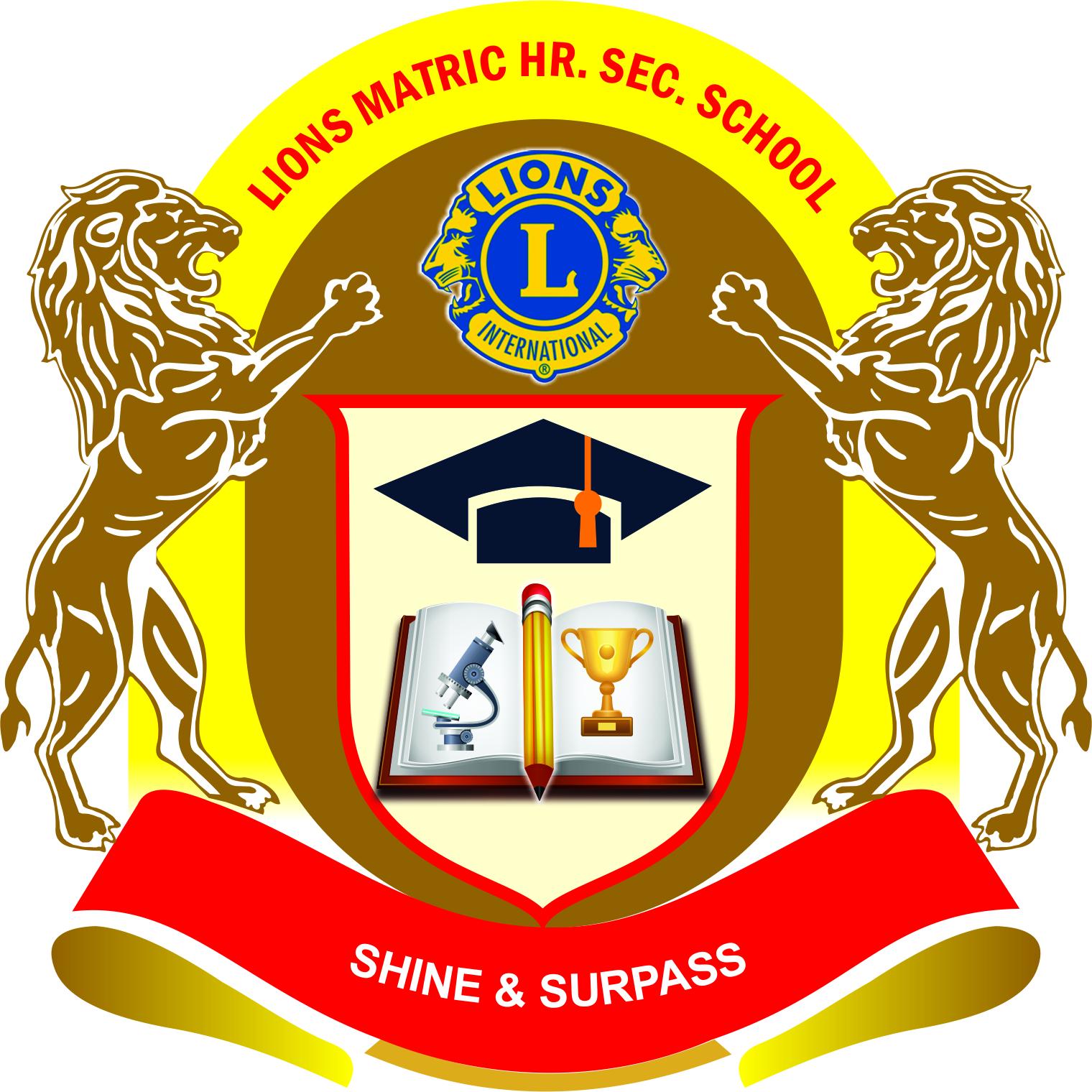 Matriculation studies clipart clip art download Lions School Education In Idaiyangudi Road, Lions School ... clip art download