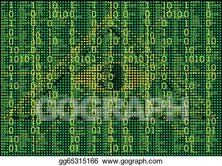 Matrix background clipart clip art freeuse stock EPS Illustration - Matrix background. Vector Clipart ... clip art freeuse stock