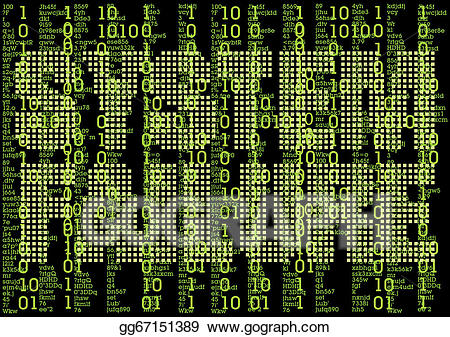 Matrix background clipart png royalty free library Vector Stock - Error in matrix background . Clipart ... png royalty free library