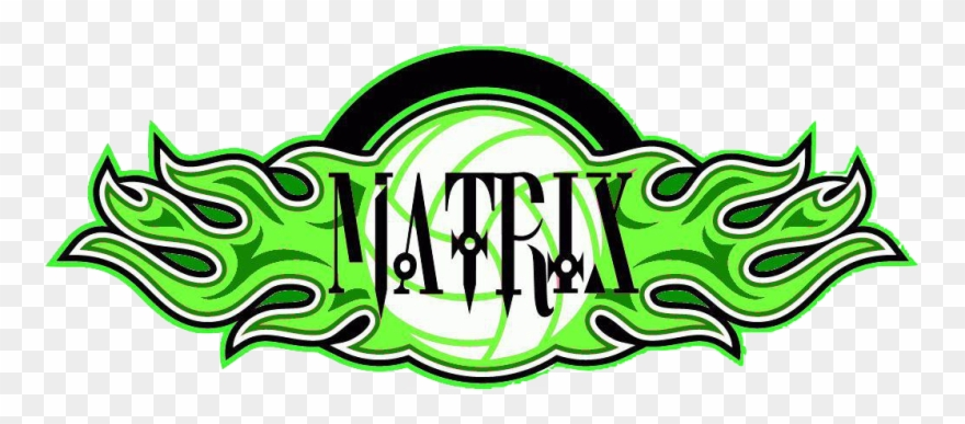 Matrix logo clipart royalty free stock Matrix Volleyball Club Logo Clipart (#1602649) - PinClipart royalty free stock
