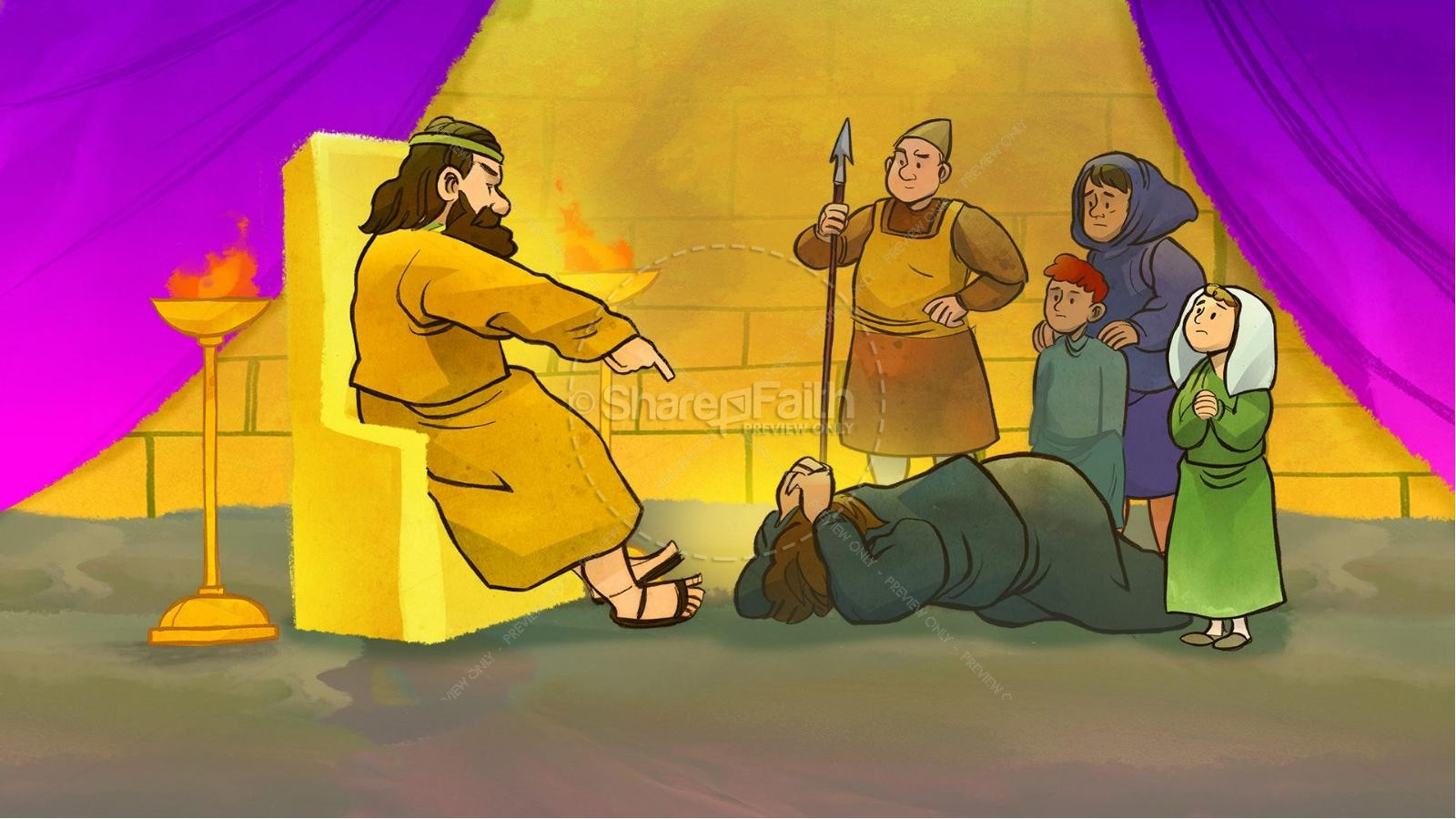 Matthew 18 21-35 clipart graphic free download Matthew 18 The Parable of the Unforgiving Servant Kids Bible ... graphic free download