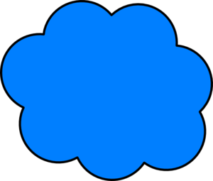 Mavi clipart clip black and white stock Blue Cloud Clip Art at Clker.com - vector clip art online ... clip black and white stock