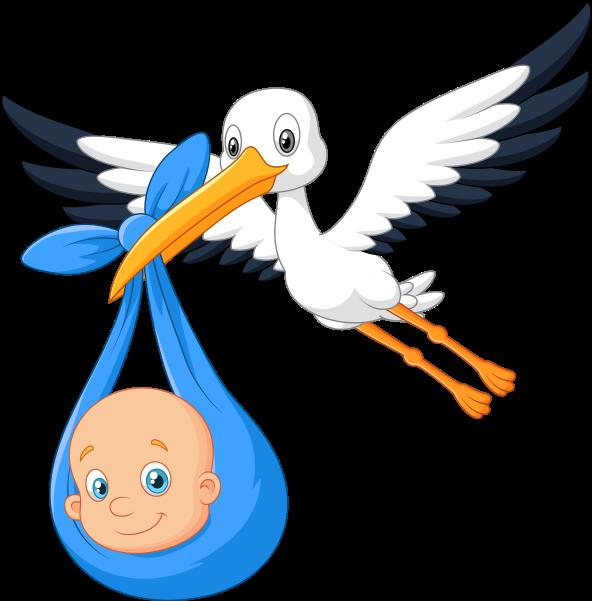 Mavi clipart clipart library Clipart Mavi Örtüsüyle Bebek Taşıyan Leylek - Png Download ... clipart library