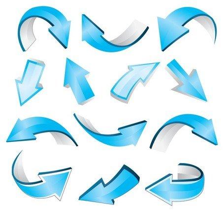 Mavi clipart graphic library stock Ücretsiz Mavi oklar Küçük Resim ve Vektör Grafikleri ... graphic library stock