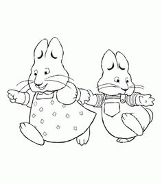 Max and ruby clipart jpg black and white library Pinterest • The world's catalog of ideas jpg black and white library