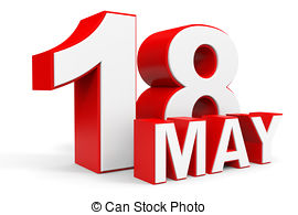 May 18th calendar clipart image library 18 may calendar on white background Illustrations and Clip Art. 12 ... image library