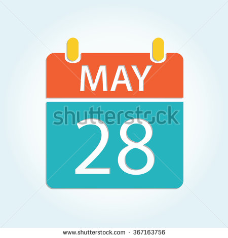 May 18th calendar clipart banner freeuse library Calendar may 28 clipart - ClipartFest banner freeuse library
