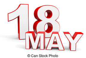 May 18th calendar clipart banner library 18 may calendar on white background Illustrations and Clip Art. 12 ... banner library