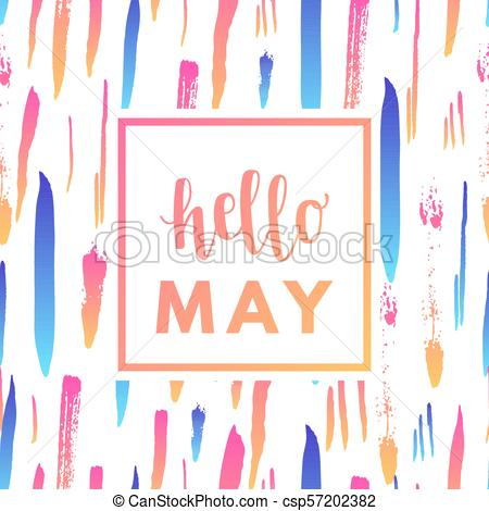 May banner clipart png black and white download Hello may sale banner. png black and white download