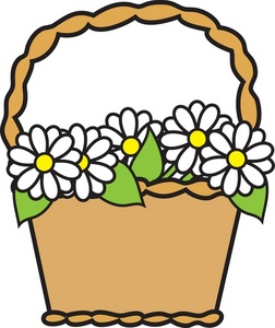 May basket clipart free image black and white Basket clipart may basket for free download and use images ... image black and white