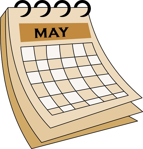 May calendar clipart free graphic stock Calendar may background clipart - ClipartFox graphic stock
