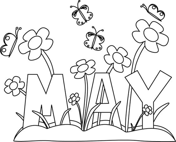 May calendar clipart summer image library download May calendar title clipart - ClipartFox image library download