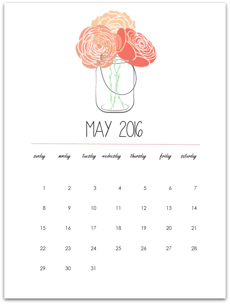 May calendar clipart summer graphic freeuse library May 2016 calendar clipart - ClipartFox graphic freeuse library