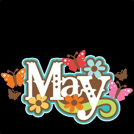 May calendar heading clipart jpg download May calendar title clipart - ClipartFox jpg download