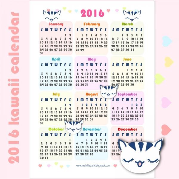 May calendar title clipart clip art royalty free Printable Calendars for 2016 – Super Cute Kawaii!! clip art royalty free