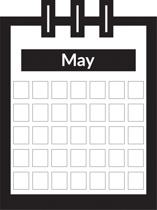 May calendar title clipart picture library library Free Calendar Clipart - Clip Art Pictures - Graphics - Illustrations picture library library