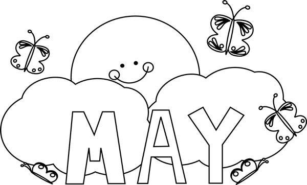 May clipart black and white clip download May calendar clipart black and white 3 » Clipart Portal clip download
