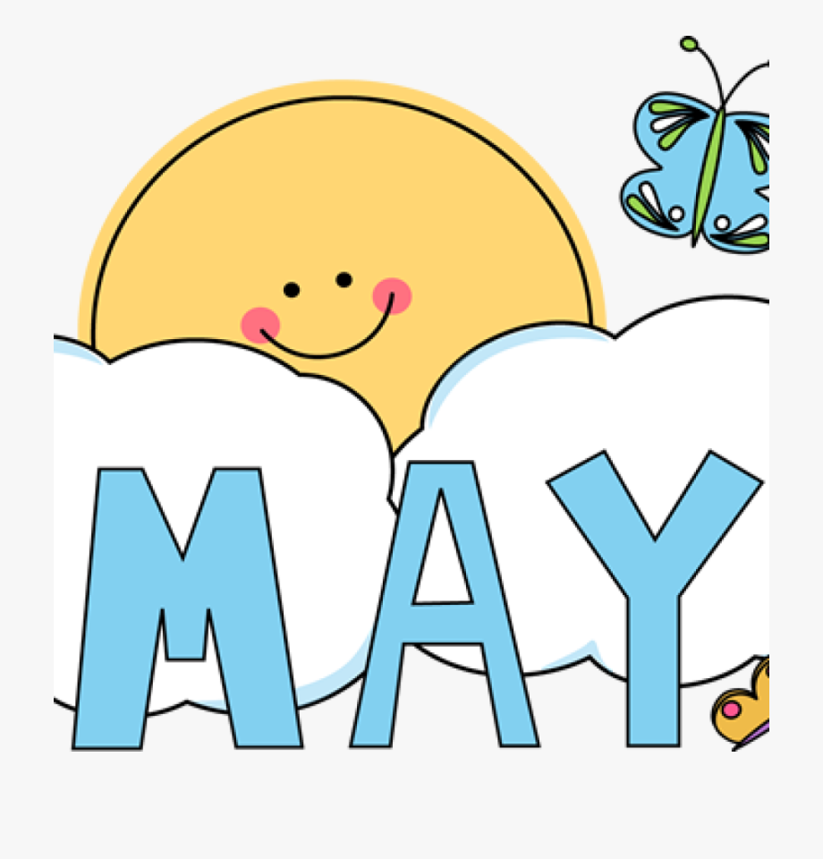 May clipart transparent image free download Clipart Black And White Month Of May Clipart - Transparent ... image free download