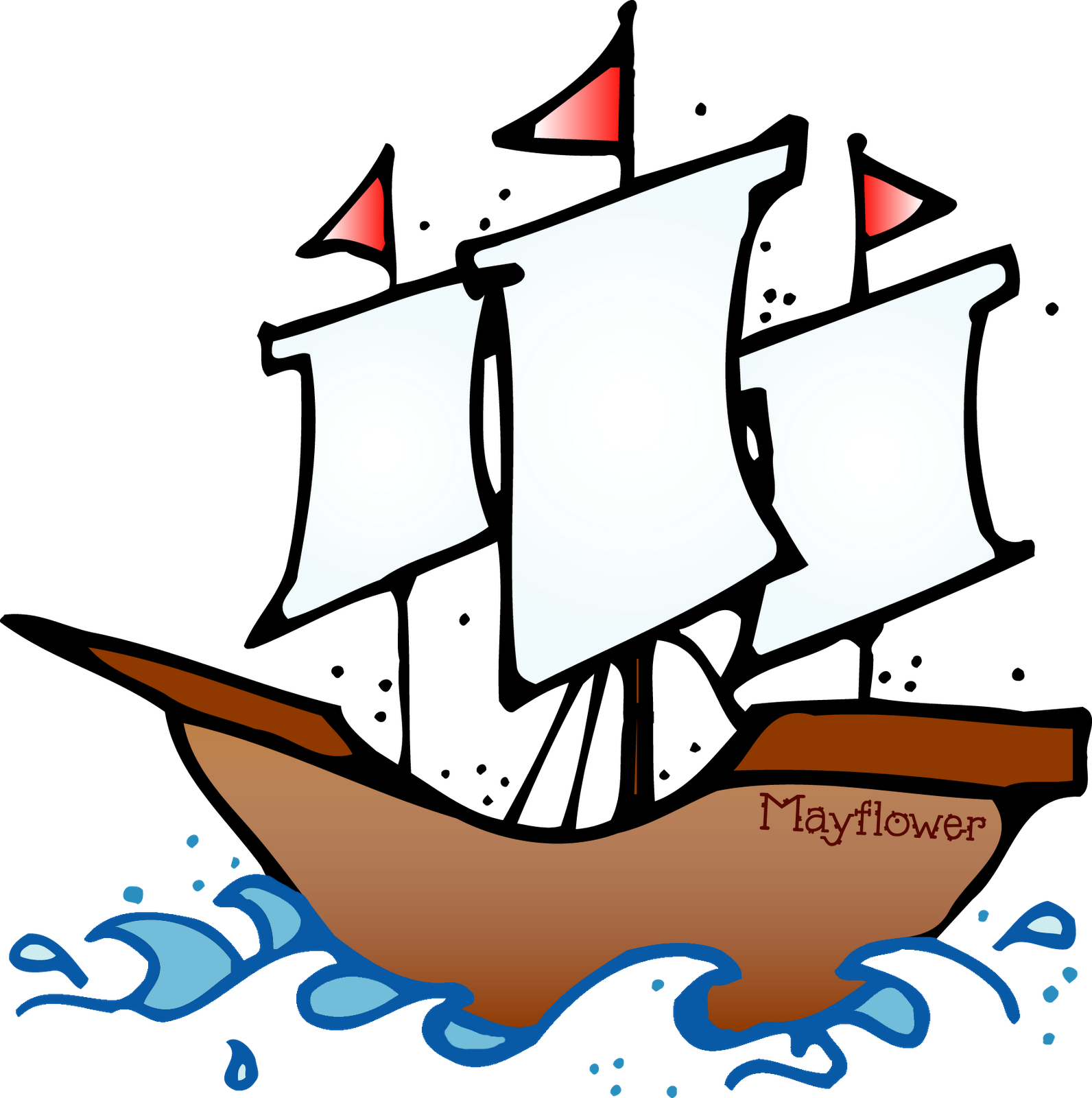 Thanksgiving boat clipart clipart library library 28+ Collection of Mayflower Clipart | High quality, free cliparts ... clipart library library