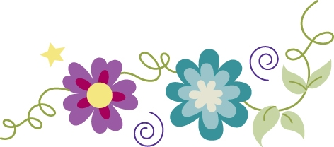 May flowers border clip art image Flowers Border | Free Download Clip Art | Free Clip Art | on ... image