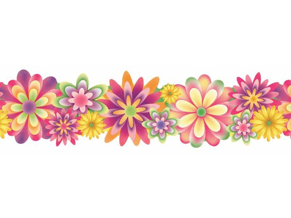 May flowers border clip art clip art library download May Border Clipart - Clipart Kid clip art library download