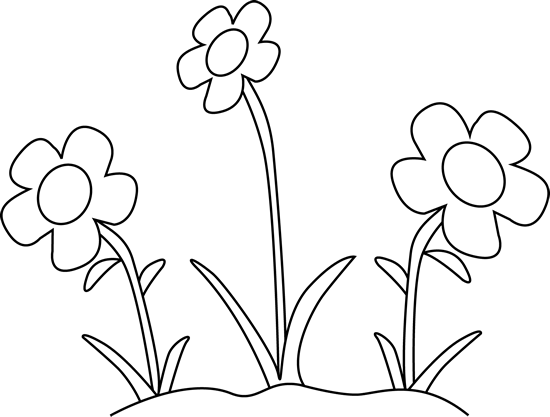 May flowers clip art black and white jpg free stock Flower Clipart Black and White - Flower Black And White Clipart ... jpg free stock