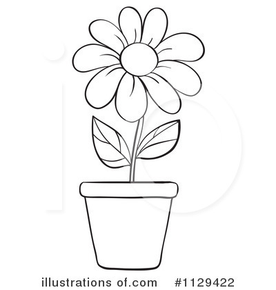 May flowers clip art black and white png royalty free library Summer Flowers Black And White Clipart - Clipart Kid png royalty free library
