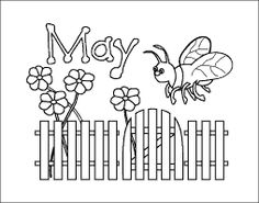 May flowers clip art black and white clip black and white Black and White Month of May Flowers Clip Art - Black and White ... clip black and white