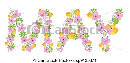 May month clip art banner Month of may clipart - ClipartFest banner