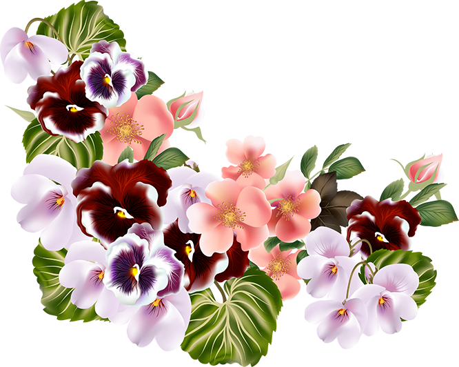 Mayflower flower clipart image black and white stock tubes fleurs / bouquets | Flores III | Pinterest | Decoupage image black and white stock