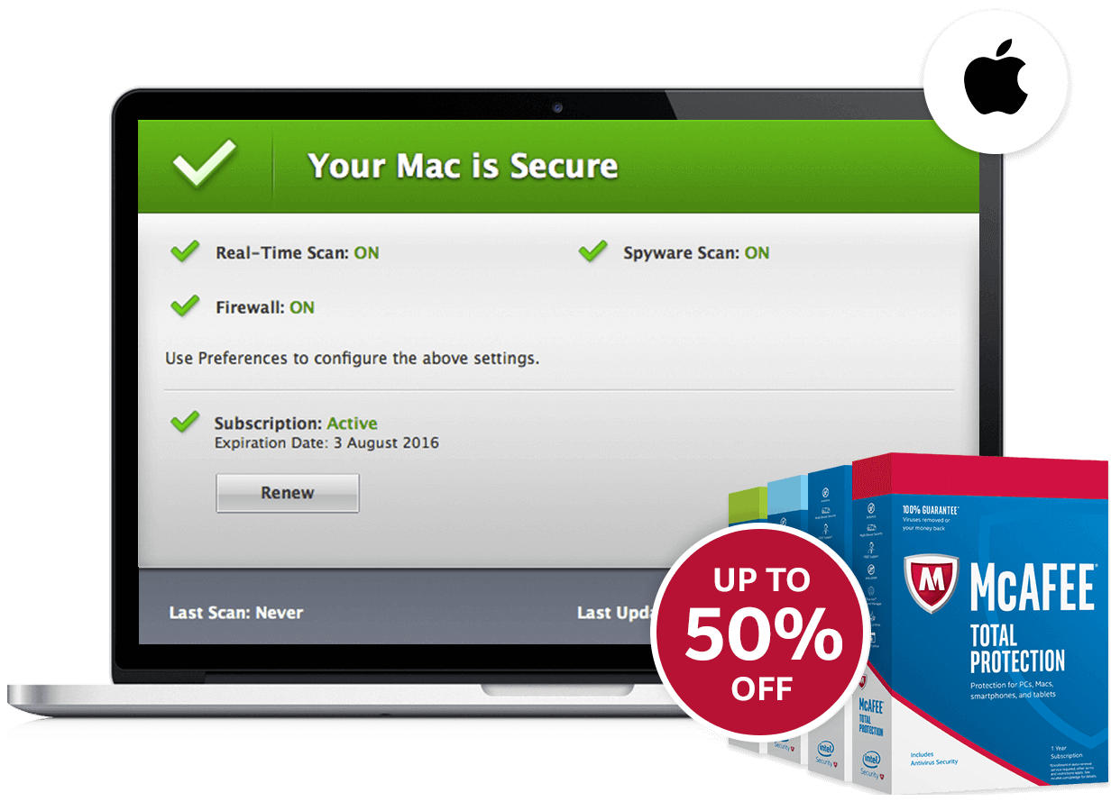 Mcafee secure clipart banner library McAfee AntiVirus Plus banner library
