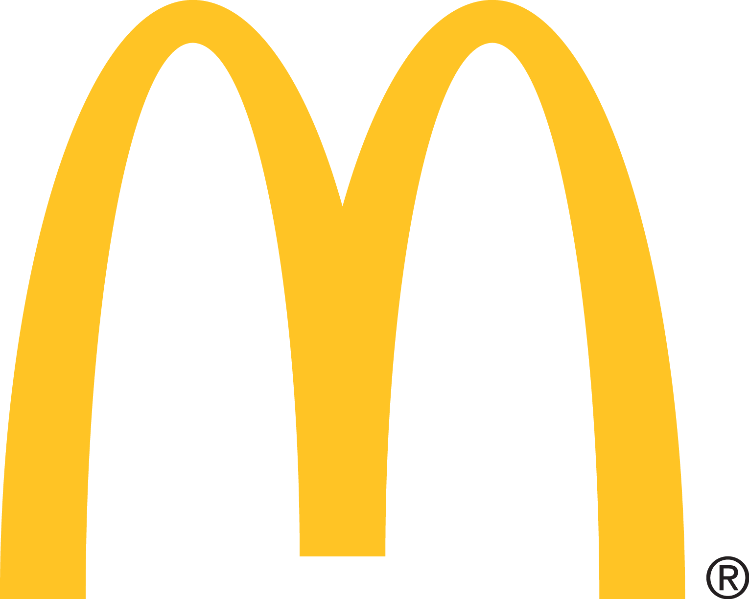 Mcdonalds icon clipart clip art library stock Mcdonalds Logo Vector Icon Template Clipart Free Transparent Png - AZPng clip art library stock