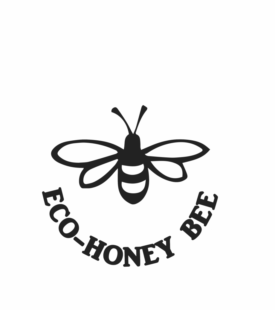 Mead clipart honey bee black and white png black and white stock Eco-honey Bee - Stylized Bee Free PNG Images & Clipart Download ... png black and white stock