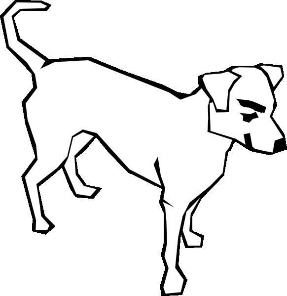 Mean dog clipart banner transparent stock Mean White Dog Clip Art at Clker.com - vector clip art online ... banner transparent stock