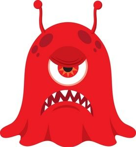 Mean monster clipart png transparent Pin by Si Linlin on Ideas - Little Monsters | Monster clipart ... png transparent