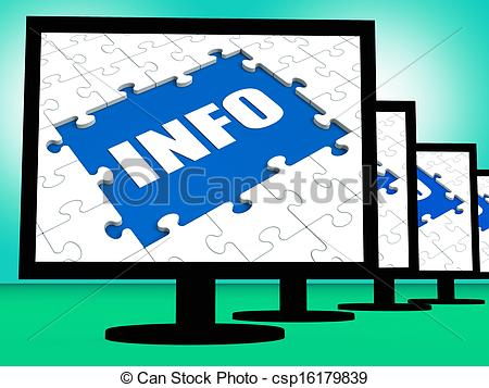 Meaning of clipart in computer picture black and white library Drawings of Info On Monitor Meaning Computer Knowledge Information ... picture black and white library