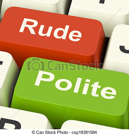 Meaning of clipart in computer png library library Pictures of Rude Polite Keys Means Good Bad Manners - Rude Polite ... png library library
